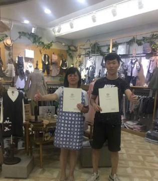 祝森虎儿童装品牌江苏吴江店开业大吉 生意兴隆!