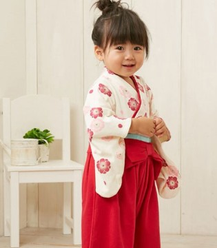 日本nissen可爱和服 演绎宝宝古韵脱俗的美