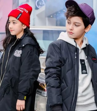 KBOY&KGIRL上新  活力轻暖羽绒外套 换季必备!