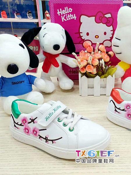 Hello Kitty凯蒂猫 别让孩子错过这款童鞋!