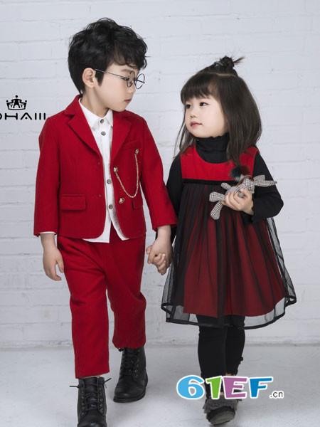 """秋季的绅士风童装怎么搭?""""潮""""东宫皇子看呗!"""