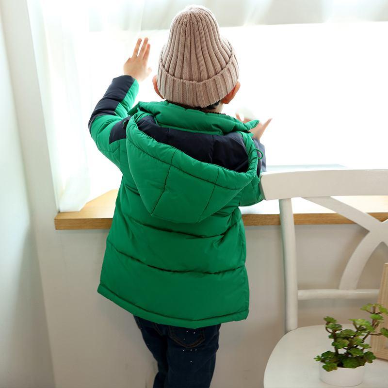 秋冬季小神童教你这样穿 再也不怕寒冷了