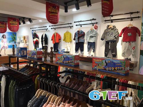 恭喜兔子杰罗童装品牌泉州南安店新店开业!