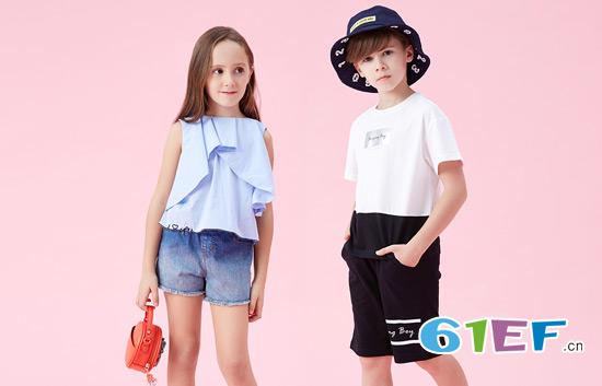 玩转童装时尚 可米芽一直从未输过