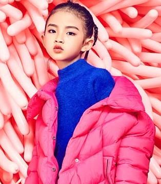 这个季节里 小资范童装羽绒服让你远离寒冷