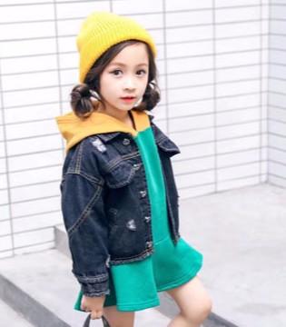经典百搭牛仔外套   缔造萌娃时尚高姿态