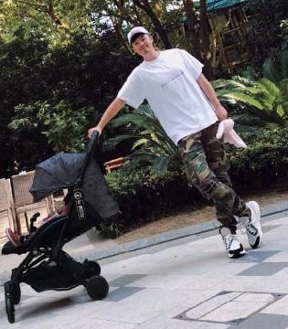 陈赫晒与女儿外出游玩照 自爆嫌弃孩子这个地方