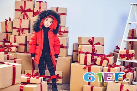 孩子的冬季时尚色 可丝毫不逊色于你!