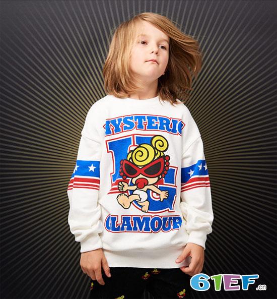 Hysteric mini童装 有趣的精致高端印花