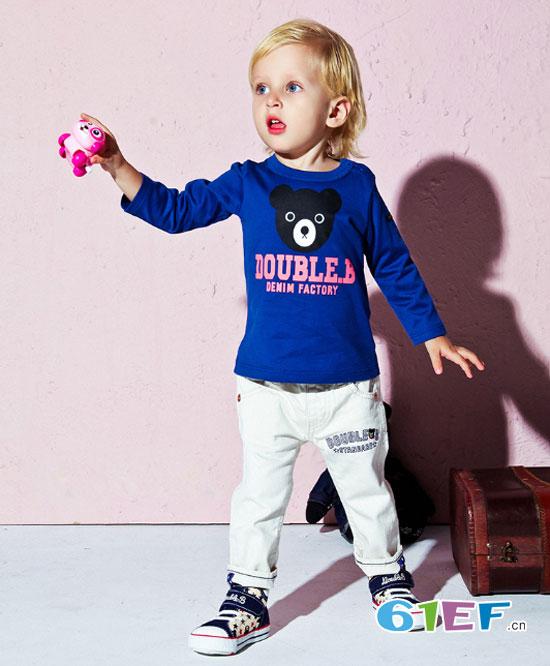 MIKIHOUSE童装 让宝宝可以像大人一样帅气自我