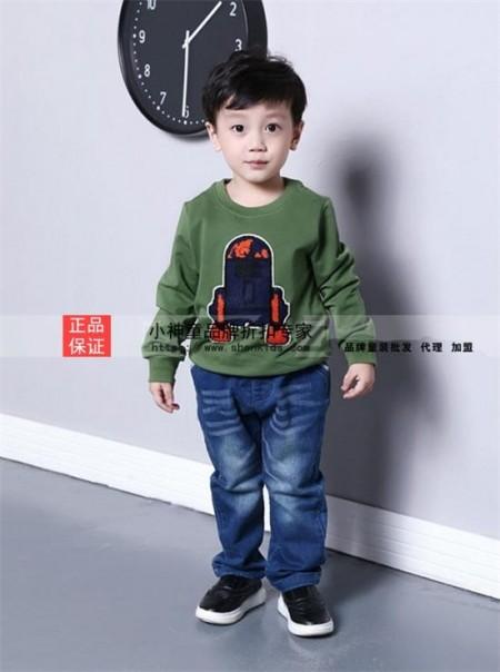 你帅气可爱 小神童品牌童装却多姿多彩
