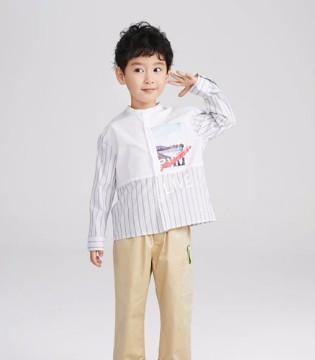 休闲百搭男童衬衫 小绅士时髦感尽显!