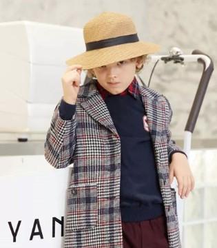 """时尚英伦风童装品牌""""爱登堡"""" 孩子的一键换装系统!"""