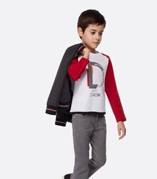 Dior童装 完美混搭单品缔造时尚造型