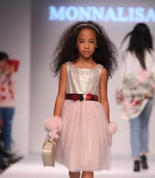 意大利高端童装MONNALISA亮相2019SS秀创国际时装周