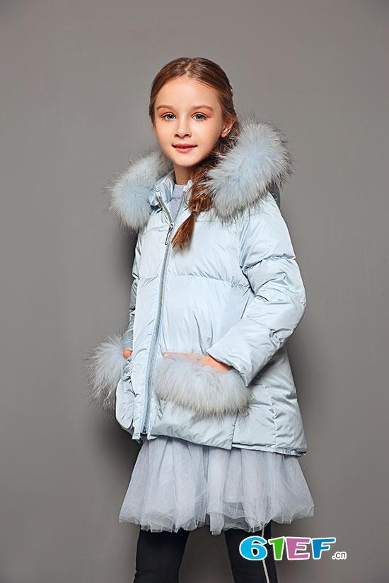 秋雨过境冬已至 poipoilu泡泡噜羽绒服让萌娃绚丽过冬
