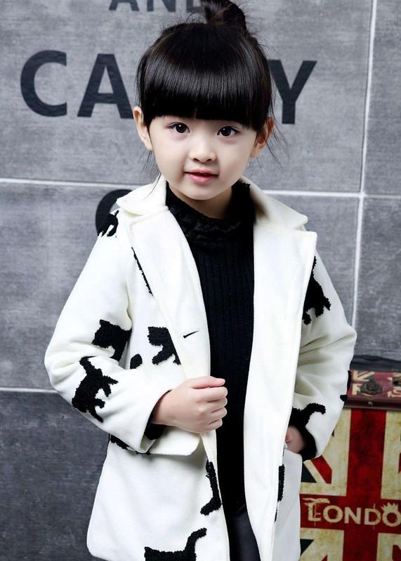 冬天里 小神童有着你想要的时尚脚步