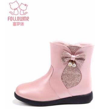 女童时尚小短靴 快给小公主囤货吧