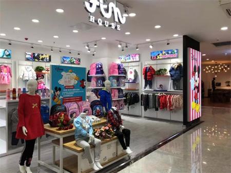 欢乐屋迪士尼儿童服饰主题店|承德蓝岛店开业啦!
