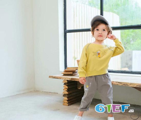 木言汀童装 简单中透着高级的质感