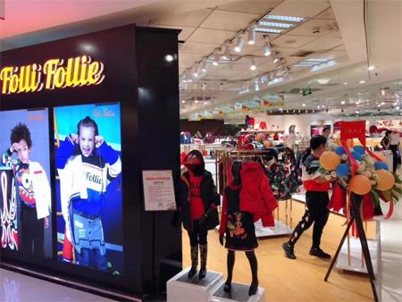 MINI FOLLIE广州天河城百货总店盛大开业