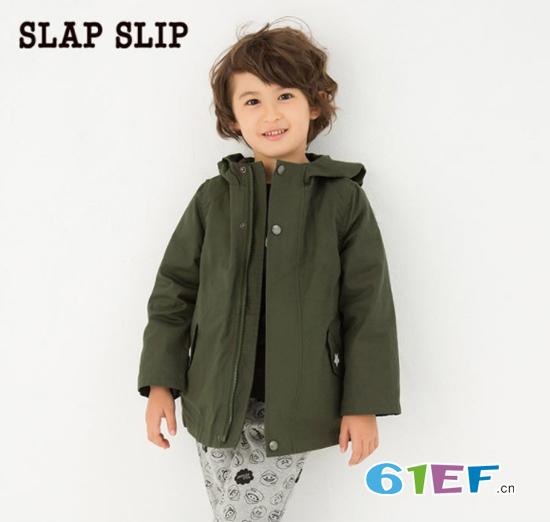 SLAP SLIP童装 时尚日系风 精心细节工艺