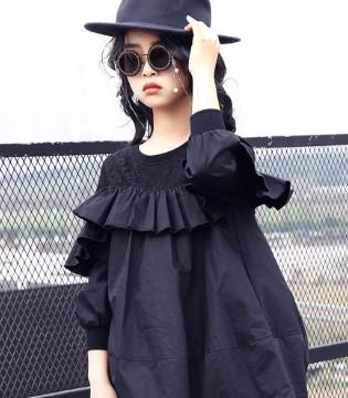 女童秋冬时尚连衣裙 打造美丽的小公主