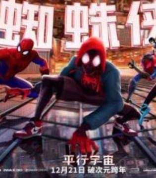 《蜘蛛侠:平行宇宙》12月21日潮爆视听贺岁