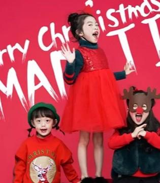 西萌叮童装 祝小萌主们圣诞节快乐!