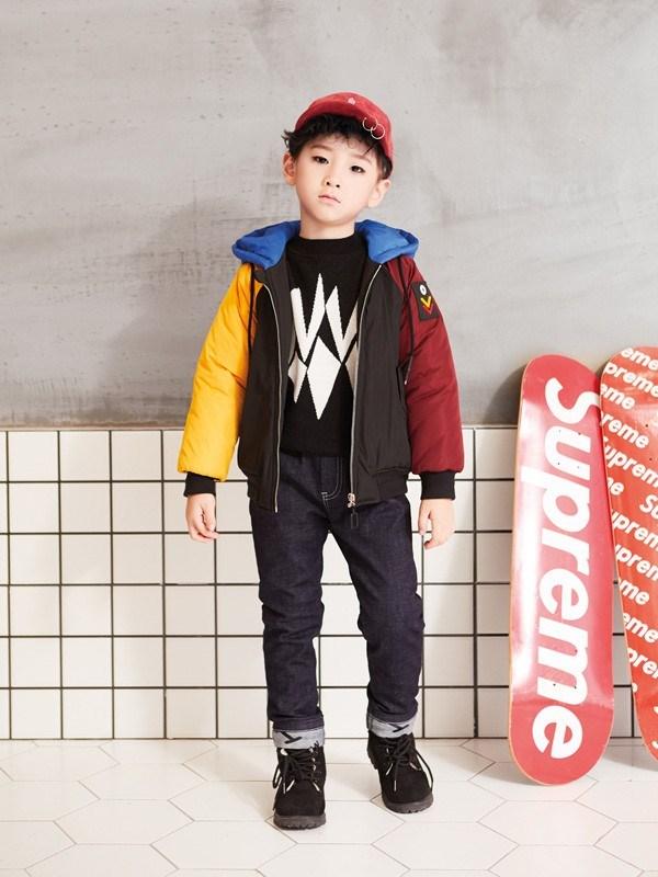穿起小神童童装 让孩子从小做一个时髦精
