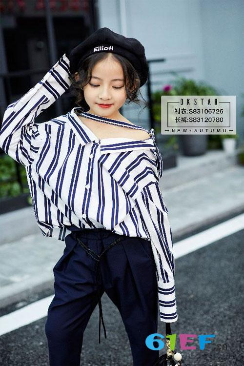 女童秋冬季应该穿那些款式的衣服 条纹怎么样