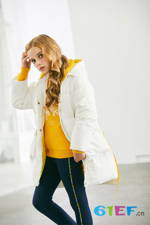 穿上可趣可奇 在寒冷的冬天也可以美美哒