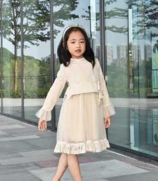 可米芽童装:家里面有小公主 就应该这样穿