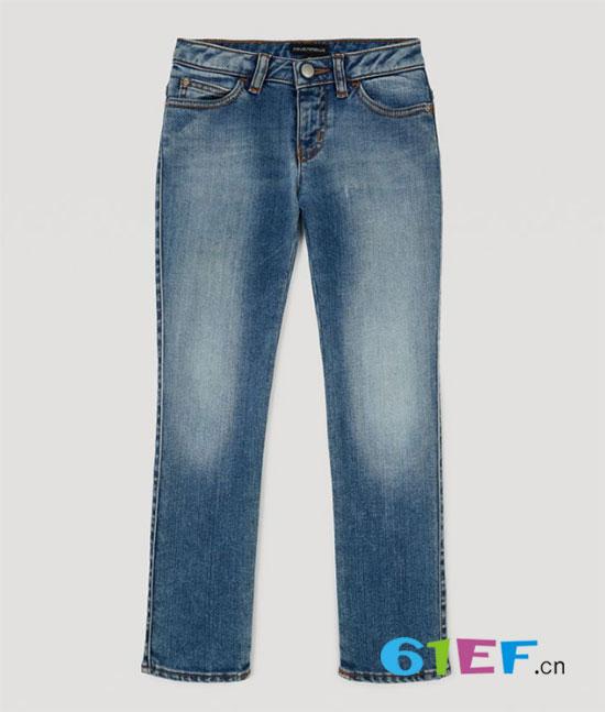 时尚奢侈品牌EMPORIO ARMANI全新童装系列丹宁单品上市