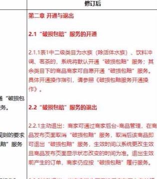 京东修订破损包赔规则:茗茶默认开通该服务