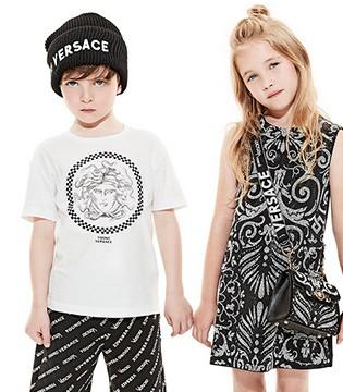 Versace范思哲Young男童服饰系列新品lookbook