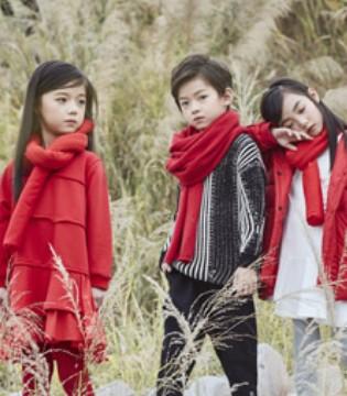 籽芽之家童装:过年了 红色衣服怎么穿才好看