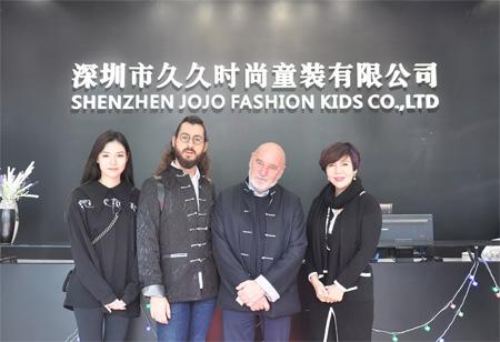 DIZAI童装 | 与意大利皇家设计师达成合作意向