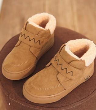 人本保暖舒适潮童棉鞋 轻松对抗寒冷天气