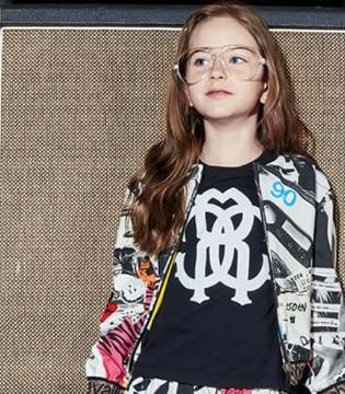 设计师Roberto Cavalli同名品牌2018秋冬童装系列新品