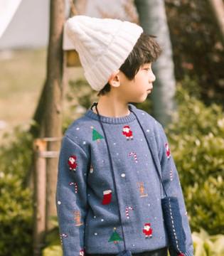 男童时尚毛衣来袭 潮流帅气又百搭