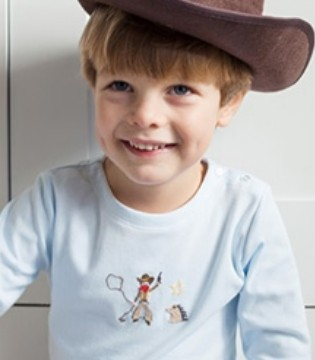 国际品牌Mini-la-Mode推出全新男童休闲家居服系列