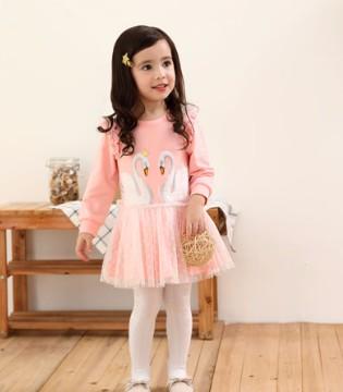 女童清新甜美连衣裙  打造时尚优雅小公主