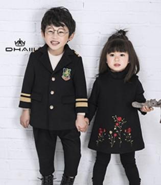 寒潮来袭 唯有穿上DHAiii东宫皇子品牌童装才得以续命