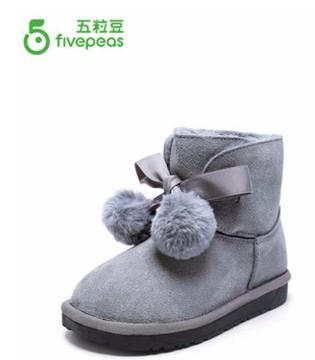 儿童短靴  给宝贝双脚贴心温暖呵护