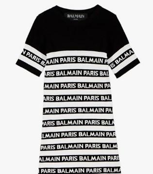 法国时装品牌巴尔曼Balmain潮酷童装新品上架啦~~