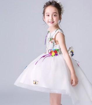 阔比豆礼服 让孩子拥抱梦中的童话梦境