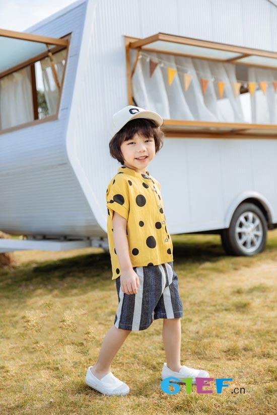 夏天在哪里 夏天就藏在欧米源童装里