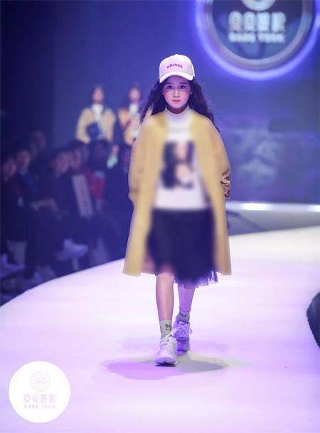 BABE TEEN贝贝�q妮2019秋羽绒新品发布会