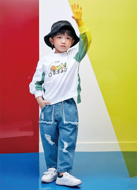 DZAI棣仔童装 新品上市 充满潮流的艺术